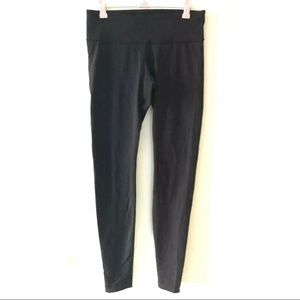 Lululemon Solid Black Wunder Under Pant Leggings 6